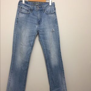 American Eagle Slim Straight Jeans Sz 29x30